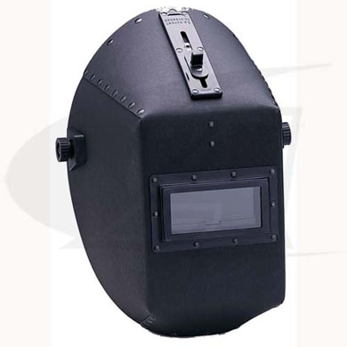 Click to see larger version of W20 490P Quick Slide Fiber Shell Passive Welding Helmet