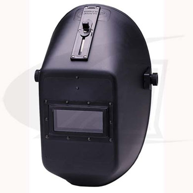 Click to see larger version of W10 990P Quick Slide Plastic Passive Welding Helmet