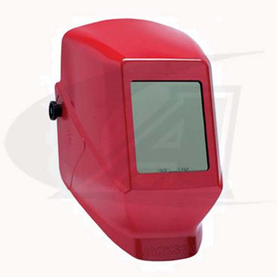 Click to see larger version of W10 HSL 100 Passive Welding Helmet - Red