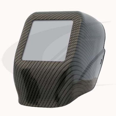 Click to see larger version of W10 HLX 100 - Halo X Passive Welding Helmet - Carbon Fiber
