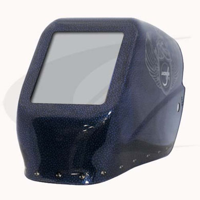 Click to see larger version of W10 HLX 100 - Halo X Passive Welding Helmet - Renegade