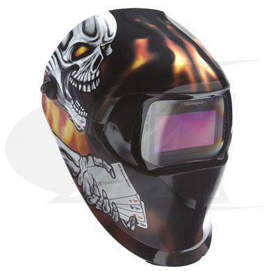 Click to see larger version of 3M™ 100 Series Welding Helmet - Aces High