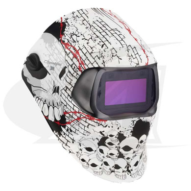 Click to see larger version of 3M™ 100 Series Welding Helmet - Boneyard