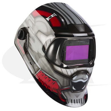 Click to see larger version of 3M™ 100 Series Welding Helmet - Future Combatant