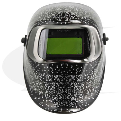 Click to see larger version of 3M™ 100 Series Welding Helmet - Skull Jewels