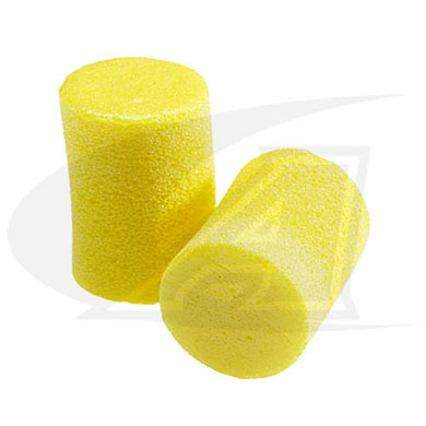 Click to see larger version of Classic Foam, Roll-Down Ear Plugs - 5 Pack