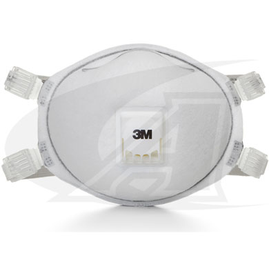 Click to see larger version of Disposable Respirator 8514, N95 W/ Face Seal