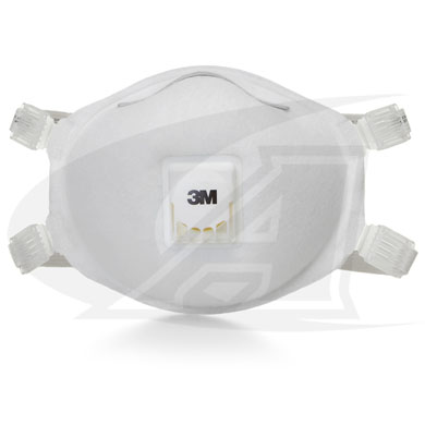 Click to see larger version of Disposable Respirator 8512, N95 - Adjustable Straps