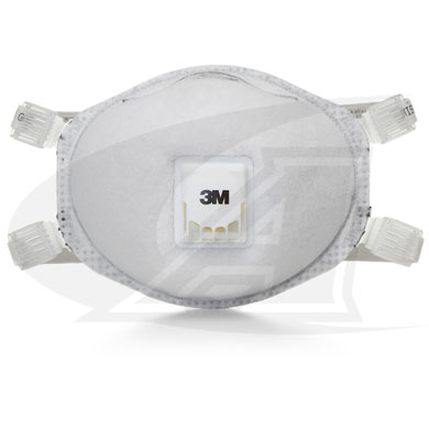 Click to see larger version of Disposable Respirator 8514, N95 W/ Organic Vapor Relief