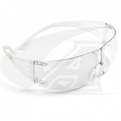Click to see larger version of 200 Series SecureFit™ Safety Goggles - Clear