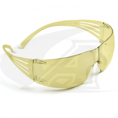 200 Series SecureFit™ Safety Goggles - Amber
