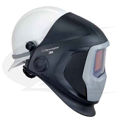 Click to see larger version of Speedglas™ 9100 Series W/ Hard Hat