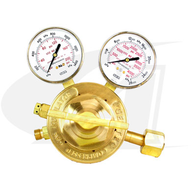 Click to see larger version of Standard Series Oxygen Regulator - Medium/Heavy Duty