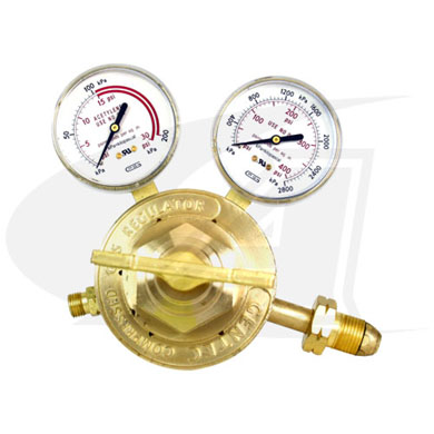 Click to see larger version of Standard Series Acetylene Regulator - Medium/Heavy Duty