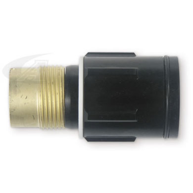 "Click to see larger version of 1/16"" (1.6mm) Gas Lens Collet Body"