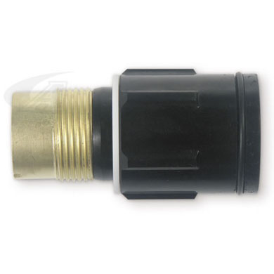 "Click to see larger version of 1/4"" (6.4mm) Gas Lens Collet Body"