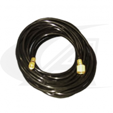 12.5\' (3.8m) Plasma Gas Hose (Black ID tape)