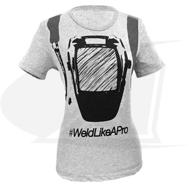 Click to see larger version of Rep Your Hood Short Sleeved TEE - Women\'s