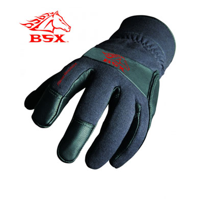 Click to see larger version of BSX Xtreme Flame Resistant, TIG Welding Gloves