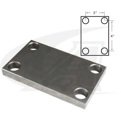 Click to see larger version of BuildPro™ Toggle Clamp Base Plate