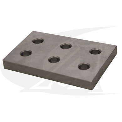 Click to see larger version of BuildPro™ 6-Hole Fixturing Plate
