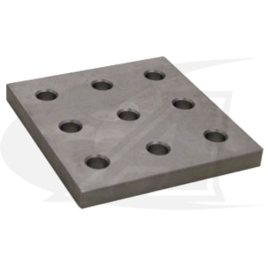 Click to see larger version of BuildPro™ 9-Hole Fixturing Plate