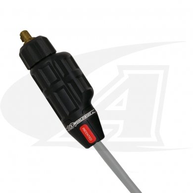 Click to see larger version of SafeLoc, 200 Amp Small Gas-Thru DINSE Connector