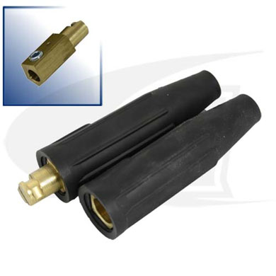 Click to see larger version of 250 Amp Cam-Lock Style Connectors - Black