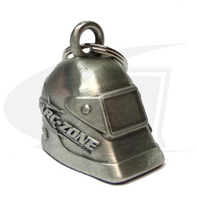 Click to see larger version of Arc-Zone 3D Welding Hood Collectible Key Chain