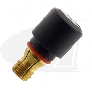 "Click to see larger version of Locking Short Back Cap For 1/4"" (6.35mm) Electrodes - CK-510"