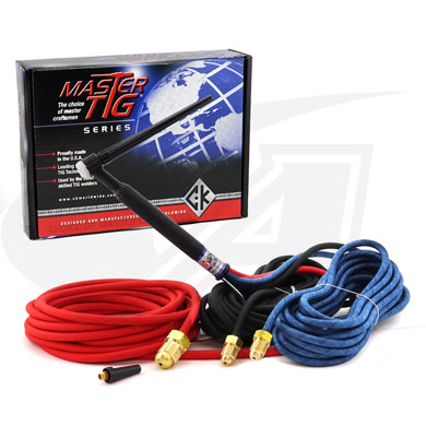 Click to see larger version of Torch Pkg, W/25\' SuperFlex Cables