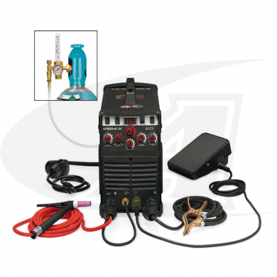 Click to see larger version of MT200 AC/DC TIG Welding System