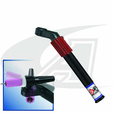 Click to see larger version of Flex-Loc™ Torch Body With Handle & Gas Valve - Air Cooled