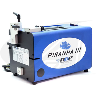 "Click to see larger version of New Piranha III-A, Heavy-Duty Tungsten Grinder - .040"" to 3/16\"""