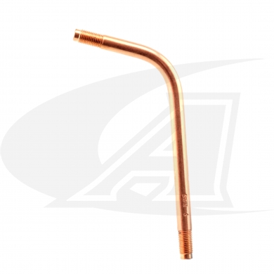 "Click to see larger version of Bent Gooseneck, 6"" by Flame Tech®"