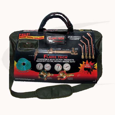 Click to see larger version of Flame Tech® Medium Duty Welding/Cutting/Heating Outfit