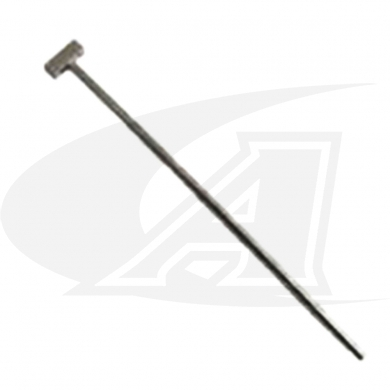 Right Angle Weld Hugger Gas Supply Tube