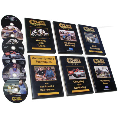Click to see larger version of Welding & Fabrication Instructional DVDs with Ron Covell
