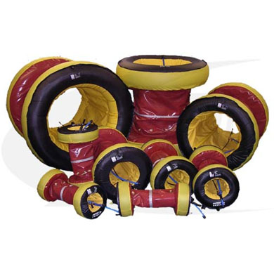 Click to see larger version of Quick-Purge™ Inflatable Pipe Purging Systems For 8-42""