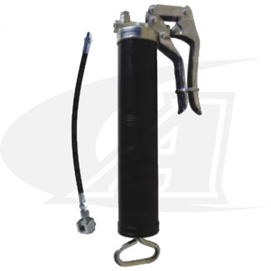 Click to see larger version of Pistol Grease Gun w/ Button Head Coupler for LRG Rotary Grounds