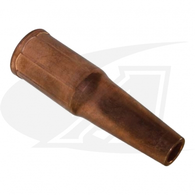 "Click to see larger version of Tapered 3/8"" MIG Nozzle - Copper"