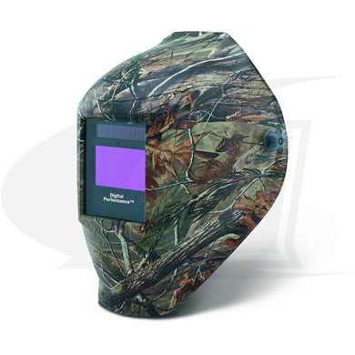 Click to see larger version of Digital Performance Series Camouflage ADF Welding Helmet