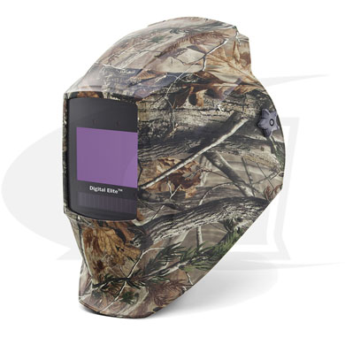 Click to see larger version of Digital Elite Camo Auto-Darkening Welding Helmet