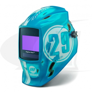 Click to see larger version of Digital Elite Vintage Roadster Auto-Darkening Welding Helmet