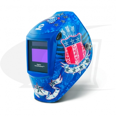 Click to see larger version of Digital Performance Series America\'s Eagle II ADF Welding Helmet