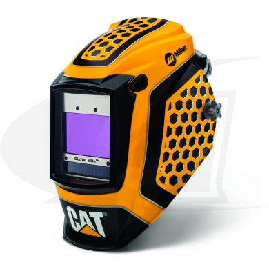 Click to see larger version of Digital Elite Cat 1st Edition Auto-Darkening Welding Helmet