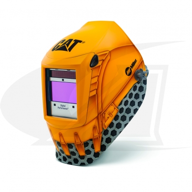 Click to see larger version of Digital Performance Series Cat ADF Welding Helmet