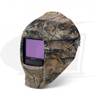 Click to see larger version of Digital Infinity Camouflage Auto-Darkening Welding Helmet