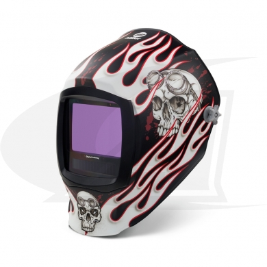Click to see larger version of Digital Infinity Departed Auto-Darkening Welding Helmet