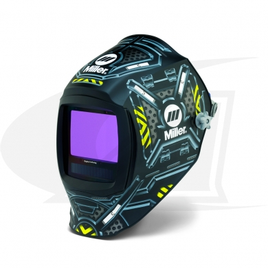 Click to see larger version of Digital Infinity Black Ops Auto-Darkening Welding Helmet